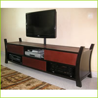palmier entertainment center