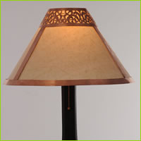 medina table lamp - carved light