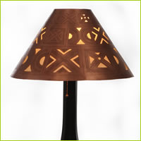 Medina table lamp <br> handcarved berber shade