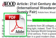 Wood & Wood Products article - IWF 96
